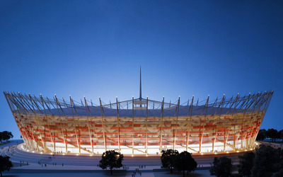 National Stadium - Warsaw wallpaper