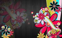 Neon daisies wallpaper 2560x1600 jpg