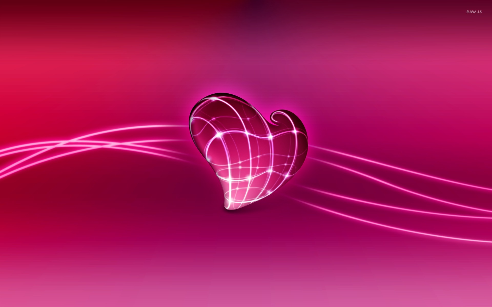 Pink Heart Wallpaper (66 Wallpapers)