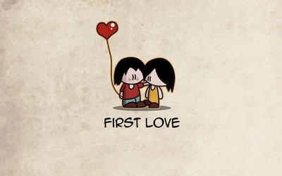 Never forget the first love Wallpaper