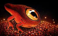 One-eyed sea creature wallpaper 1920x1200 jpg