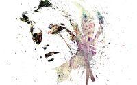 Painted face wallpaper 1920x1200 jpg