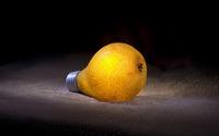 Pear bulb wallpaper 1920x1200 jpg