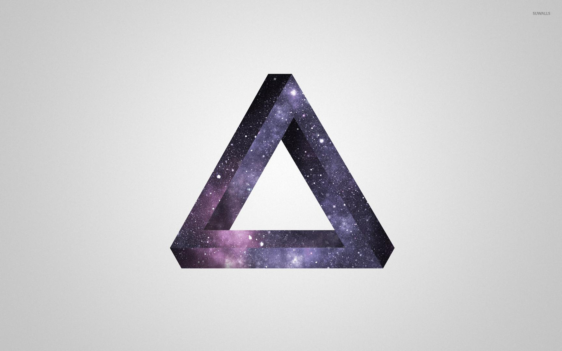 Penrose triangle wallpaper - Digital Art wallpapers - #14258