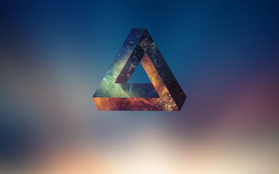 Penrose triangle [2] wallpaper