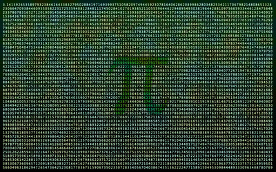 Pi wallpaper