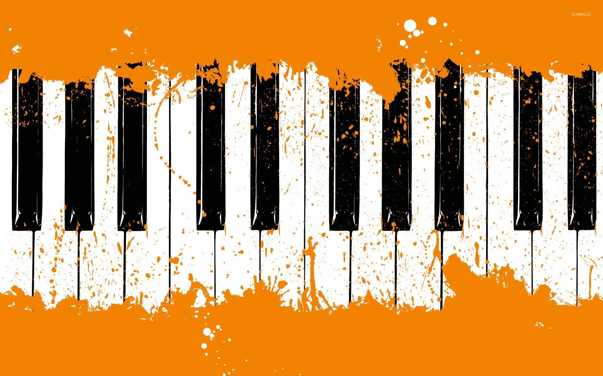 piano keyboard wallpaper digital art wallpapers 21116