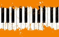 Piano keyboard wallpaper 1920x1200 jpg