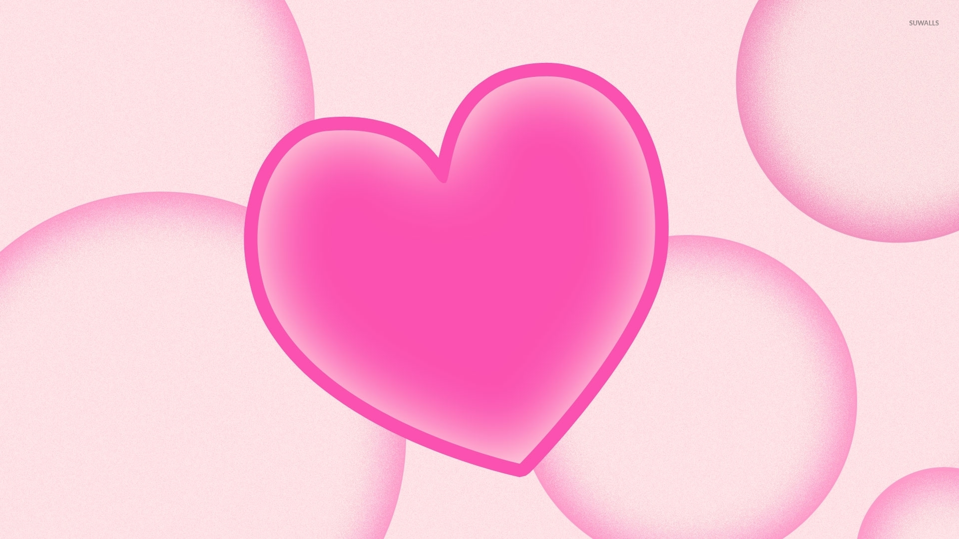 Collection Download Pink Heart Wallpapers