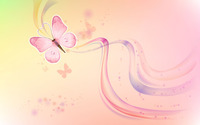 Pink butterfly wallpaper 1920x1200 jpg