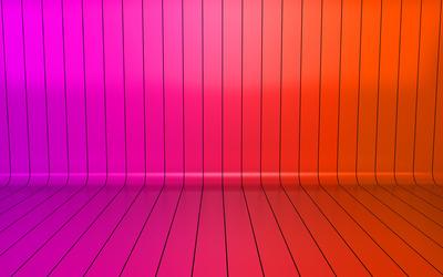 Pink gradient stripes wallpaper
