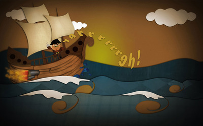 Pirate ship [4] wallpaper