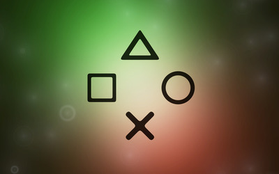 PlayStation controls wallpaper