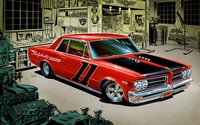 Pontiac GTO wallpaper 1920x1080 jpg