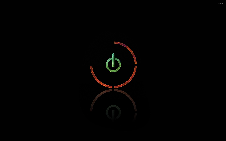 Power button wallpaper - Digital Art wallpapers - #31543