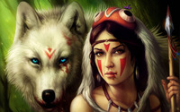 Princess Mononoke wallpaper 2880x1800 jpg