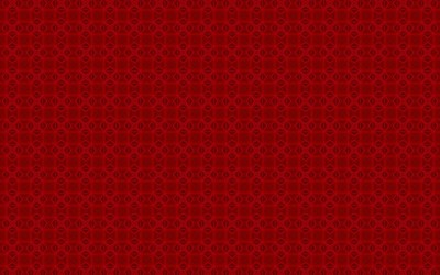 Red square pattern wallpaper
