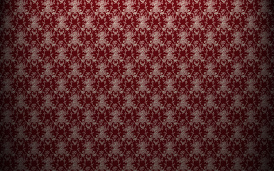 Red vintage pattern wallpaper