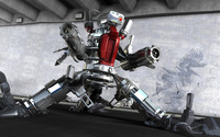 Robot in warehouse wallpaper 1920x1200 jpg