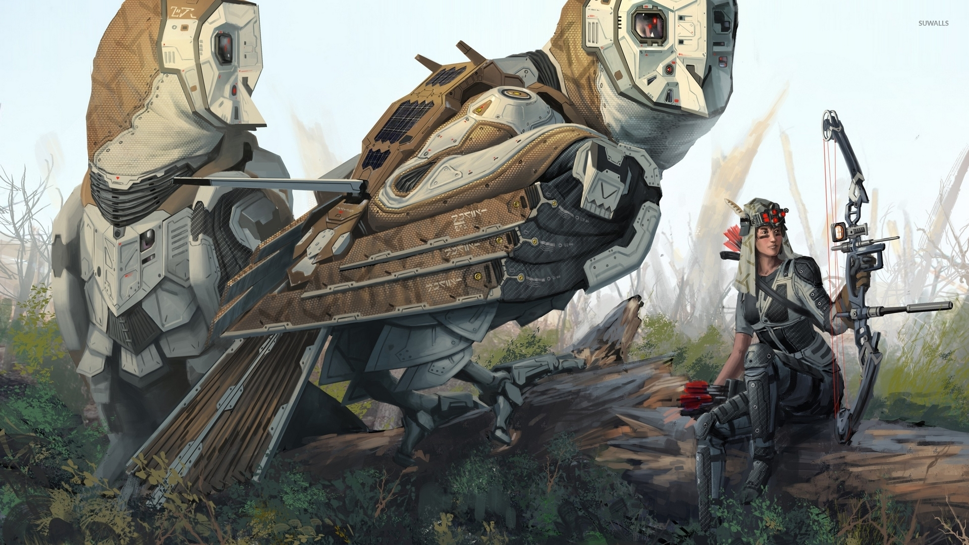 Deviantart Robot Animals: Digital Art Wallpapers