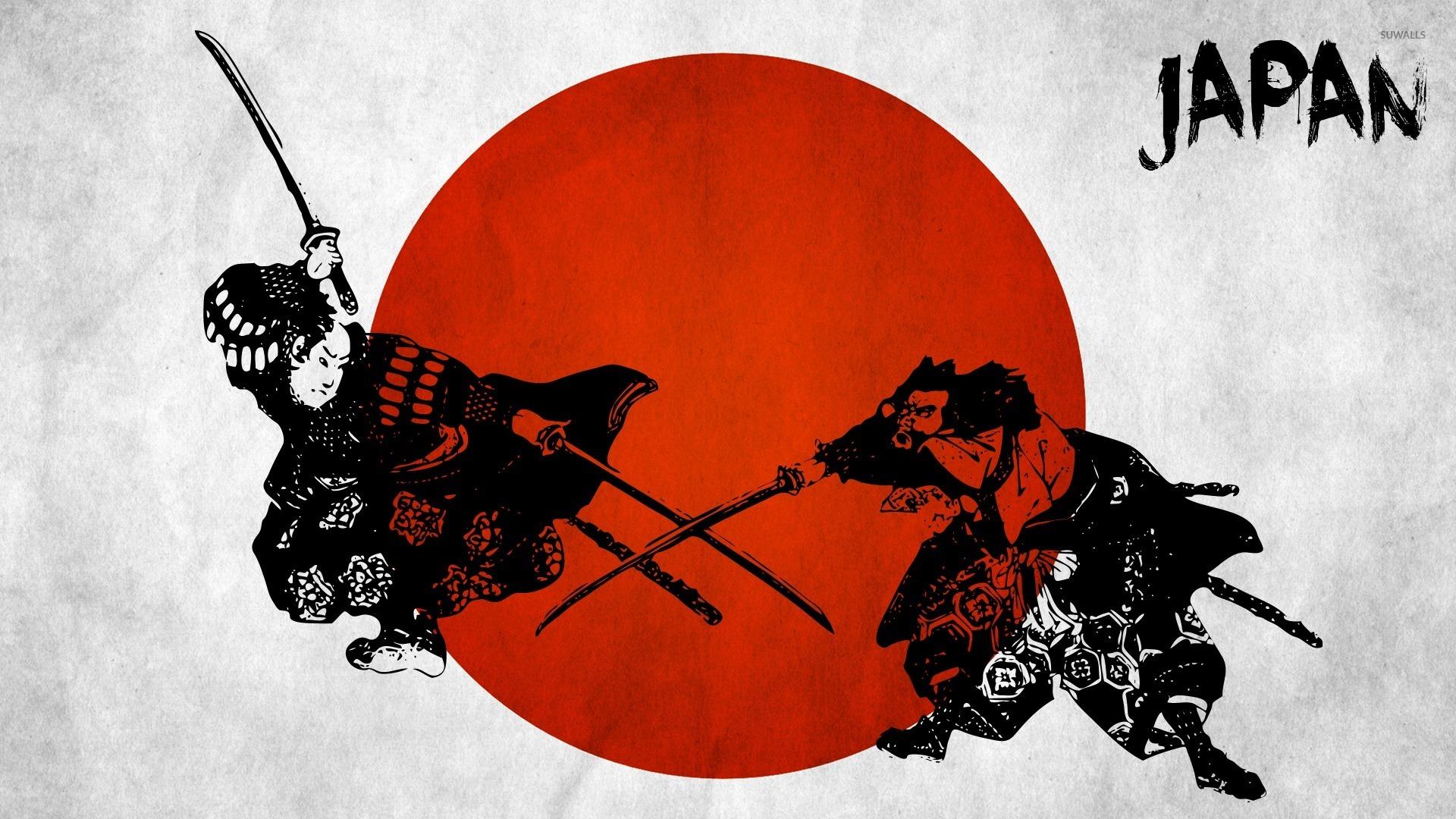 Samurai fighting wallpaper Digital Art wallpapers 52346
