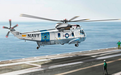 Sikorsky SH-3 Sea King wallpaper