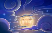 Smiling moon wallpaper 1920x1200 jpg