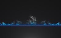 Smoke rising from the blue line wallpaper 1920x1080 jpg