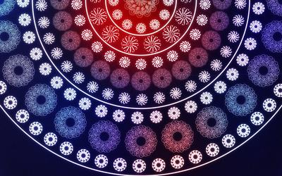 Snowflakes [19] wallpaper