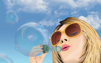 Soap bubbles wallpaper 2880x1800 jpg