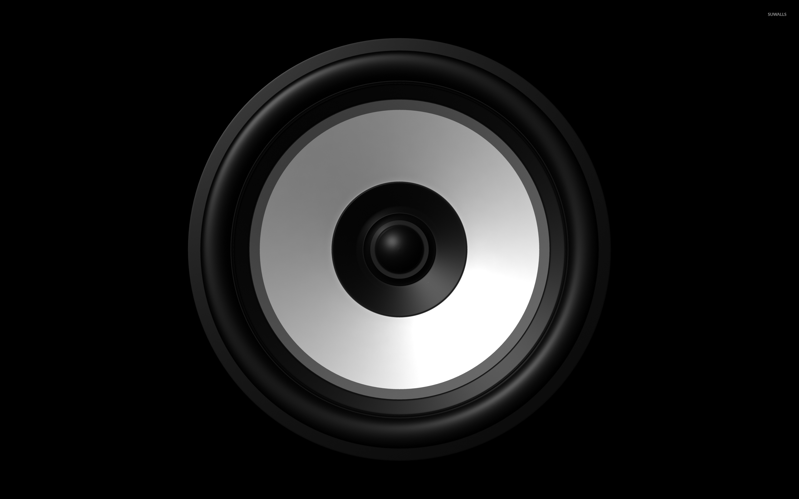 speaker  2  wallpaper - digital art wallpapers