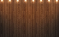 Spot lights on the wooden wall wallpaper 2560x1600 jpg