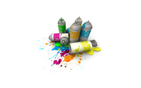 Spray paint cans wallpaper 1920x1200 jpg