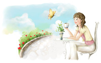 Tea time [2] wallpaper 1920x1200 jpg