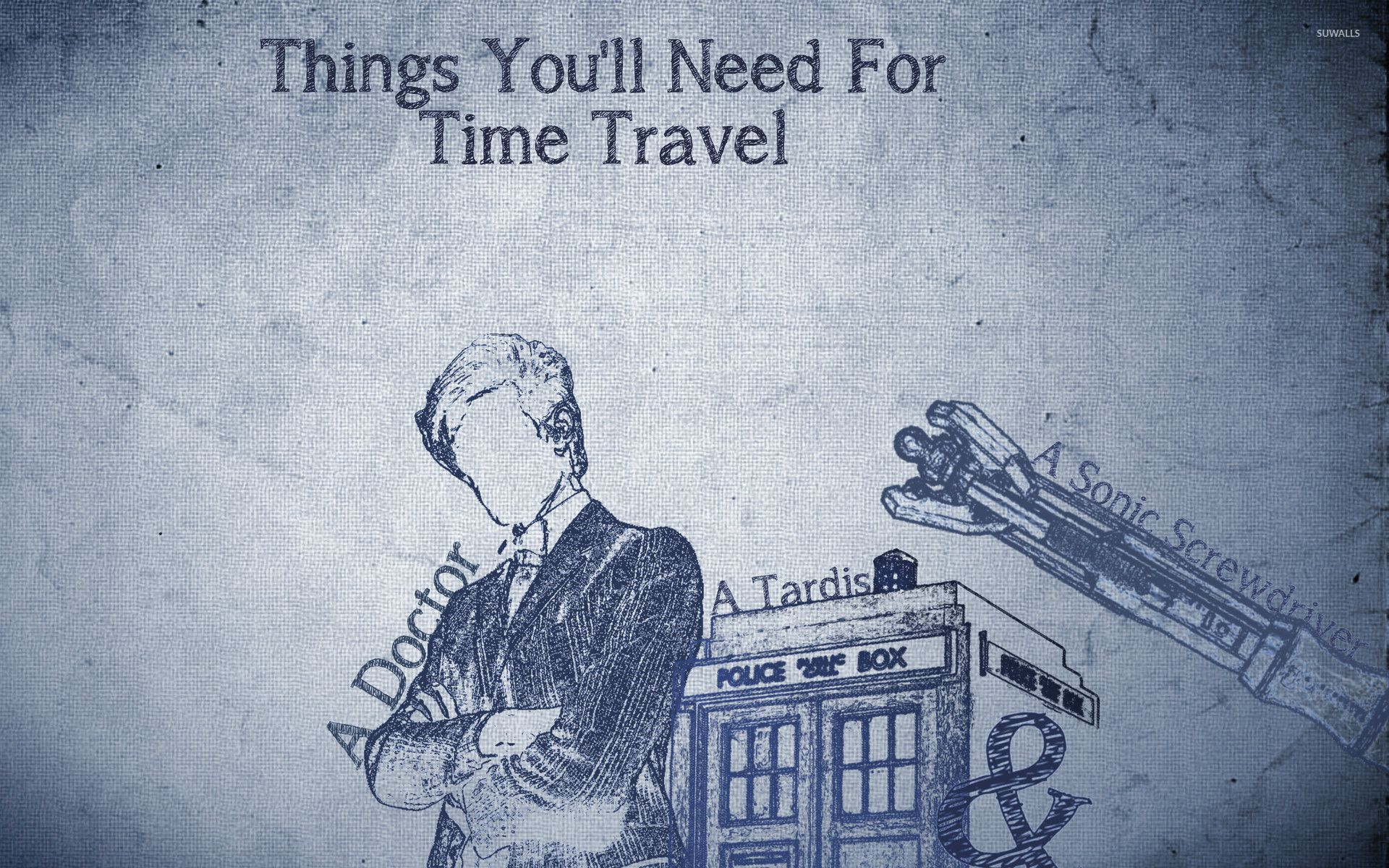 Things you need for time travel wallpaper Digital Art wallpapers