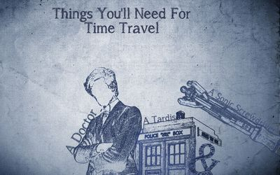 Things you need for time travel wallpaper