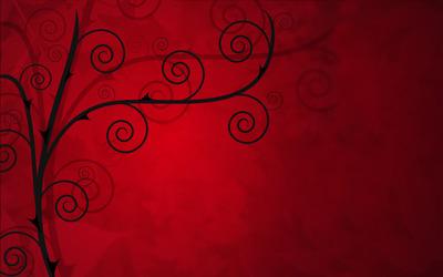Thorn tree wallpaper