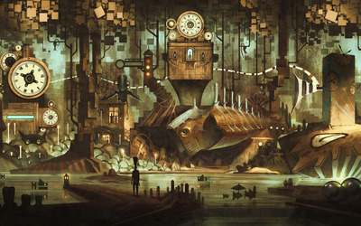 Time city wallpaper