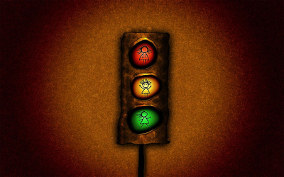 Traffic light wallpaper