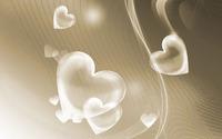 Translucent hearts wallpaper 1920x1200 jpg