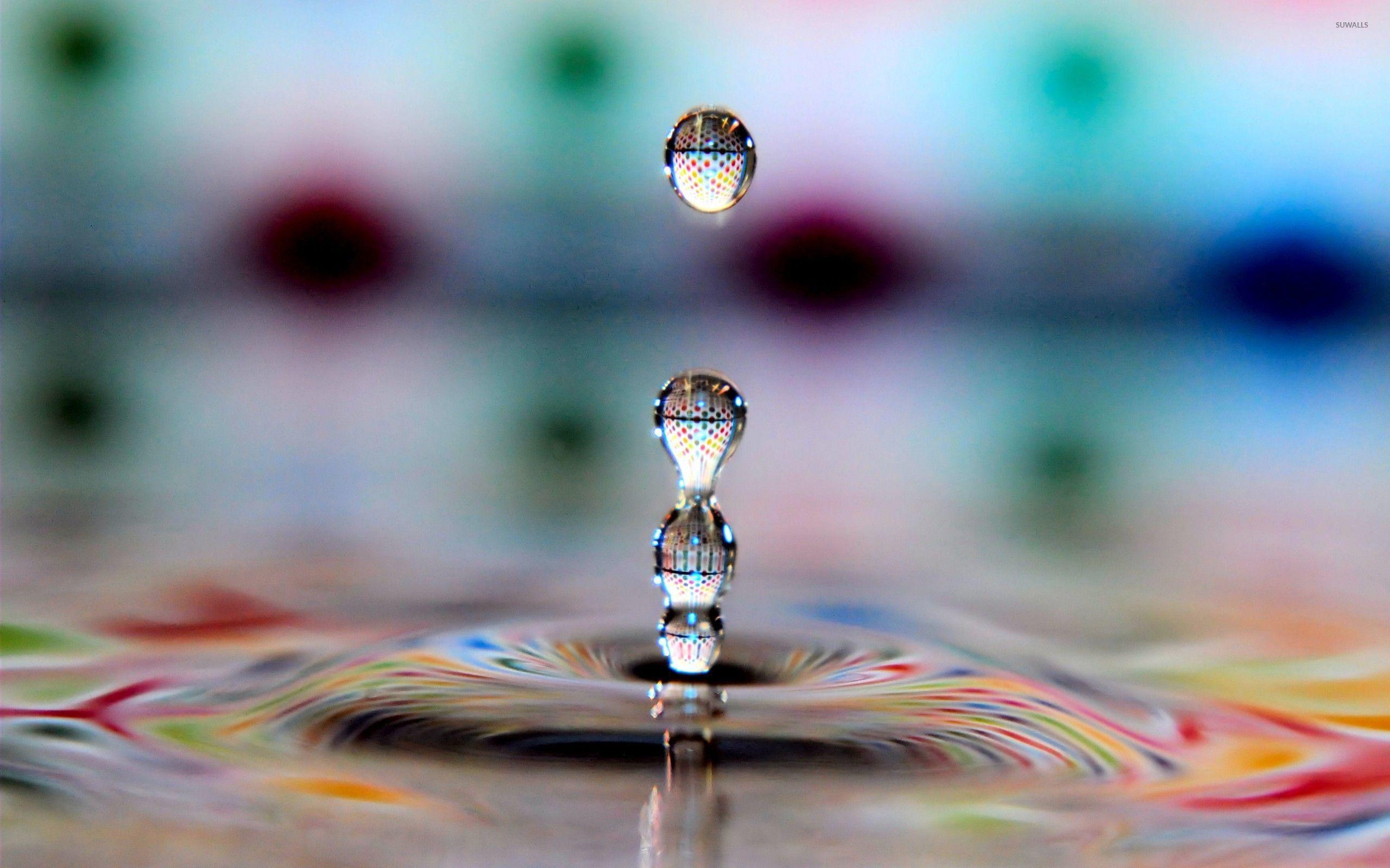 water droplet wallpaper Digital Art Pinterest Water droplets