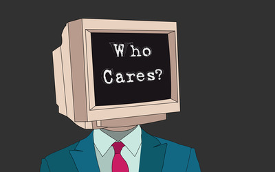 Who cares wallpaper