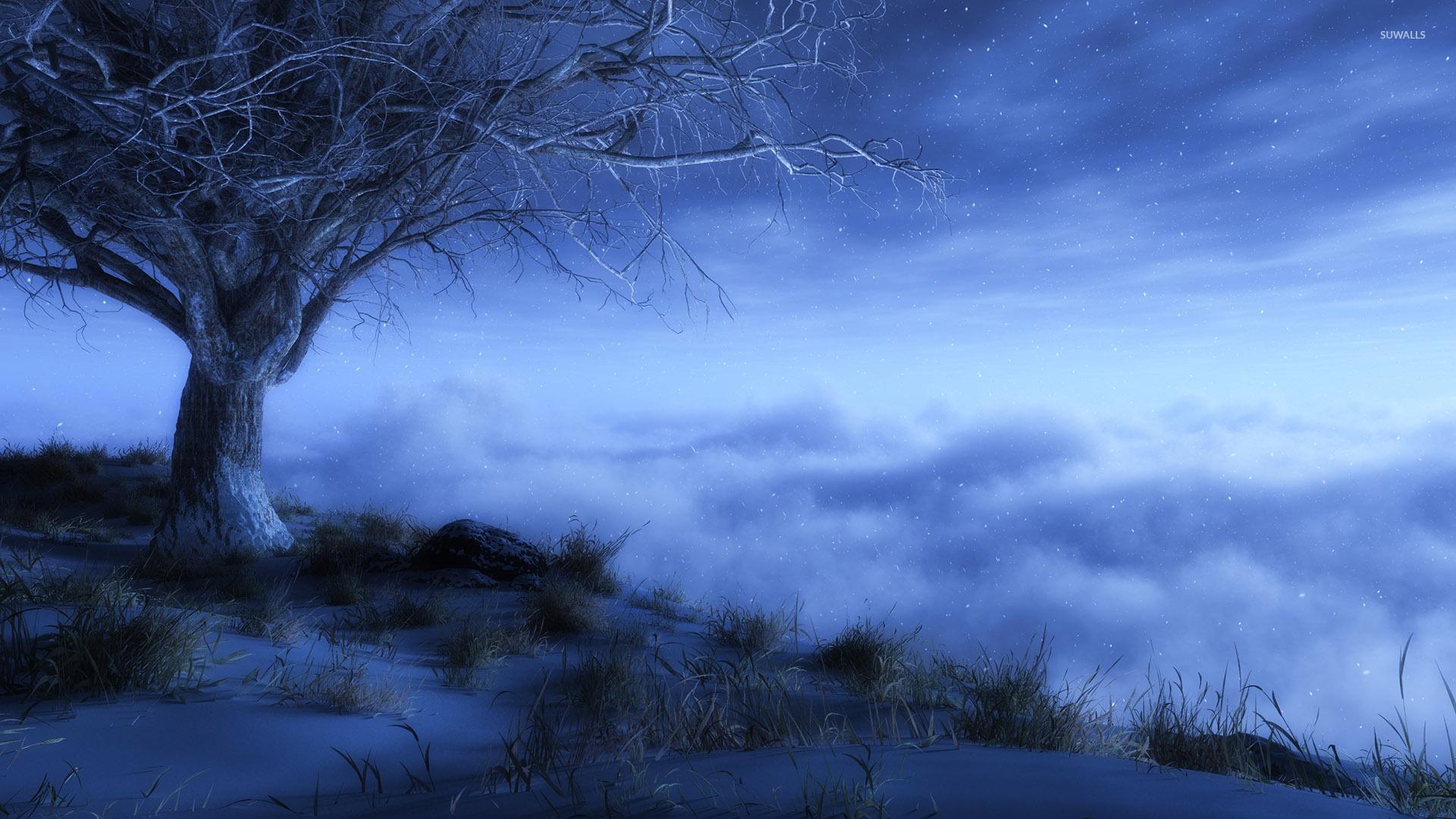 winter night wallpapers 66 wallpapers � hd wallpapers