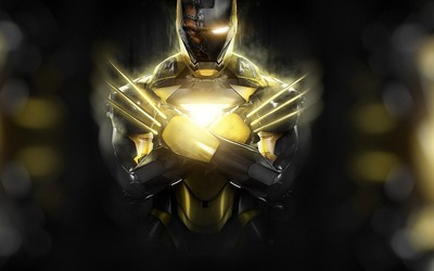 Wolverine Iron Man wallpaper