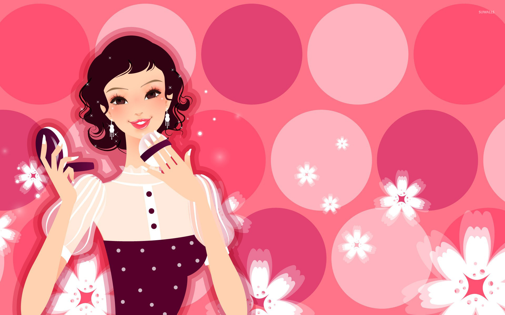 Top Cartoon Makeup Wallpaper - woman-putting-on-her-make-up-20678-1920x1200  Best Photo Reference_172553.jpg