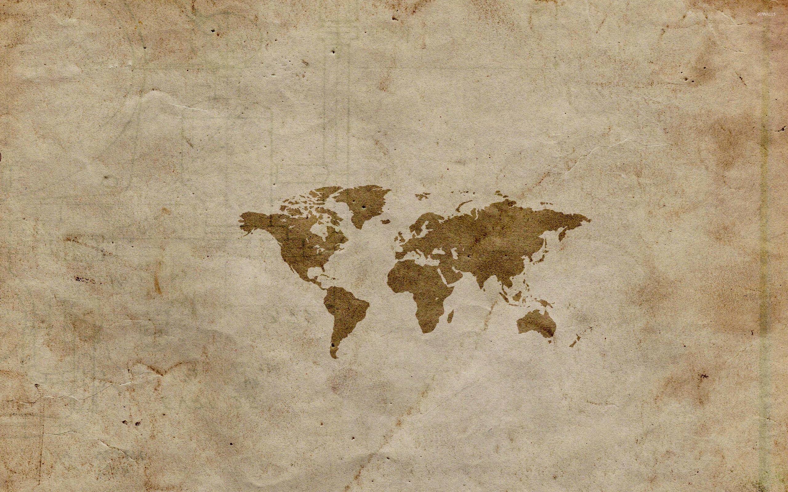 World map 3 wallpaper digital art wallpapers 43767 world map 3 wallpaper gumiabroncs Gallery