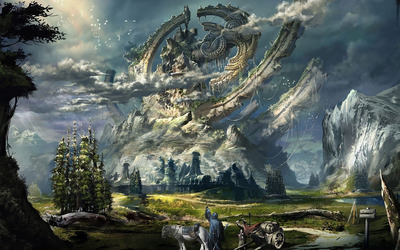 Adventure land wallpaper