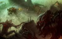 Alien monsters wallpaper 2560x1600 jpg