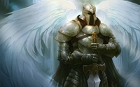 Angel warrior wallpaper 1920x1200 jpg