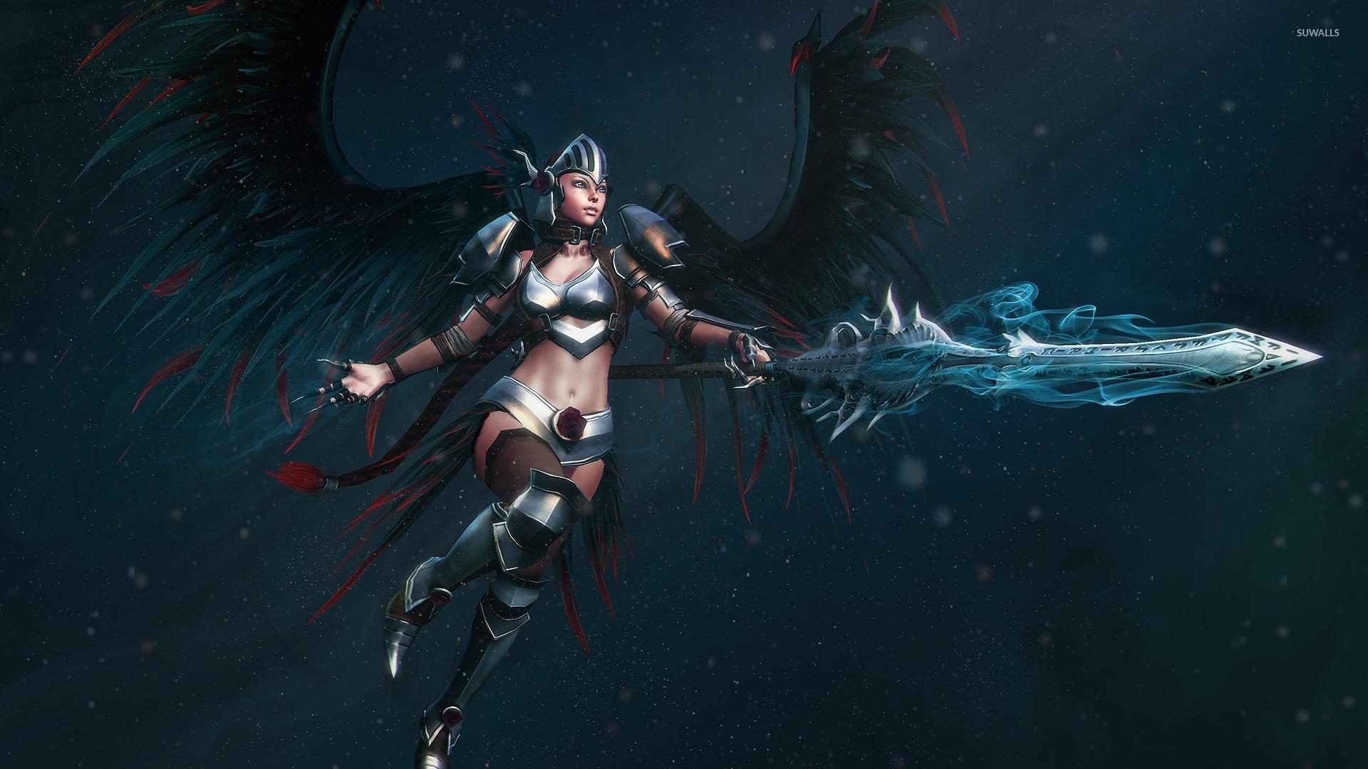 angel warrior sword wings - photo #30